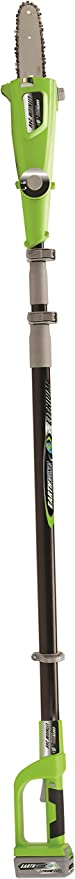Earthwise LPS42410 10-Inch 24-Volt Lithium Ion Cordless Electric Pole