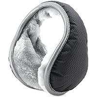 Metog Unisex Foldable Ear Warmers Polar Fleece Winter Earmuffs Waterproof