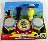 Disney Junior Mickey Mouse Clubhouse Electronic Learning Drum Set