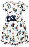 Lilax Little Girl Easter Flower Print Short Sleeve Toddler Dress 3T Navy