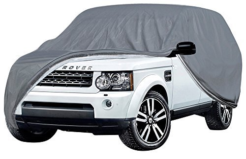 OxGord Executive Storm-Proof Auto Cover - 100 Water-Proof 7 Layers -Developed for Any All Conditions - Ready-Fit Semi Glove Fit fro SUV, Van, and Truck - Fits up to 206 ()