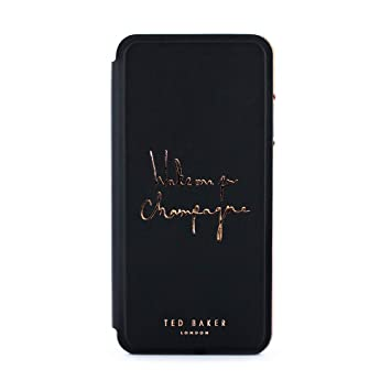 new arrival 65fa9 b72bd Ted Baker CHAMPAGNE Fashion Mirror Folio Card Slot Case for iPhone 8 Plus /  7 Plus, Protective Cover iPhone 8 Plus / 7 Plus for Professional ...