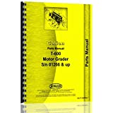 Galion T-600 Grader Parts Manual