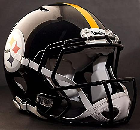 Amazon.com: Riddell Speed PITTSBURGH STEELERS NFL AUTHENTIC ...