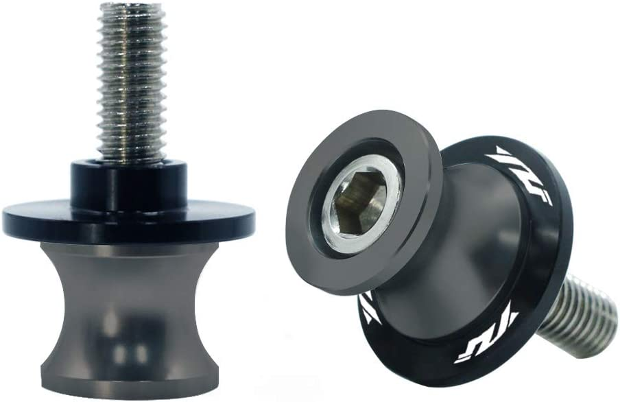 2pcs 6MM M6 Motorcycle Swingarm Spools Sliders CNC Swing Arm Stand Screw for Yamaha YZF R1 R3 R6 R25 R1000