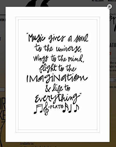 Music Writing Part - Von.G Art: Original Saying/Quote