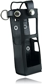 product image for Boston Leather 5613RC Radio Holder Custom Built For The Motorola Apx 7000