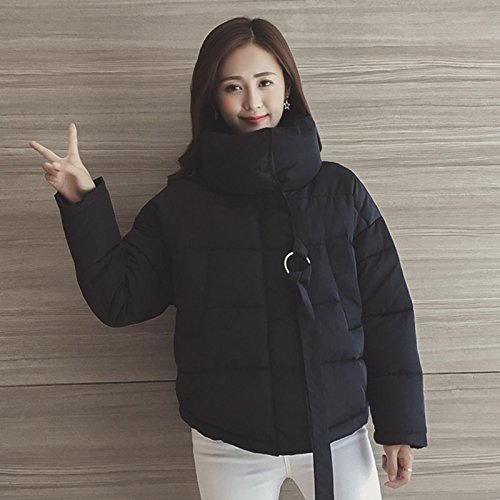 Bread Short The Thick Loose Xuanku Coat Small Women Cotton Black Cotton And Service Winter Jacket Rz471