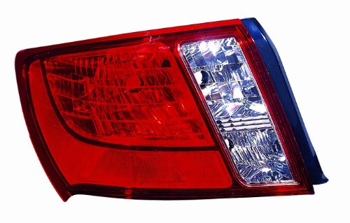 - Depo 320-1909L-US Subaru Impreza Driver Side Replacement Taillight Unit without Bulb