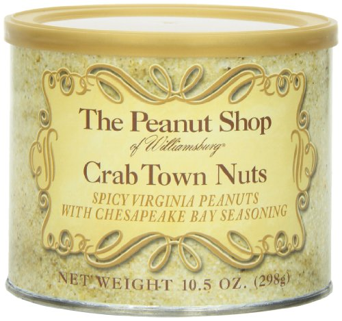 The Peanut Shop of Williamsburg Crab Town Nuts, 10.5 Ounce