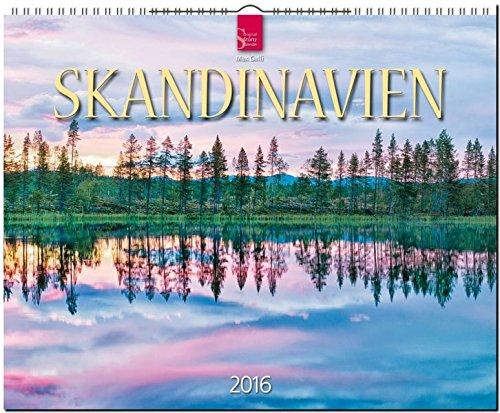 Skandinavien 2016 [Norwegen - Schweden - Finnland]: Original Stürtz-Kalender - Großformat-Kalender 60 x 48 cm [Spiralbindung]