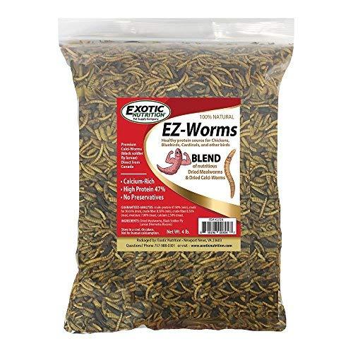 4 lb. Exotic Nutrition EZ-Worms (4 lb.)