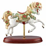 Lenox 2016 Christmas Carousel Horse Figurine Annual Limited Ed Musical Notes