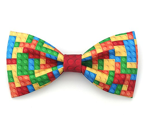 Soultopxin Man Cartoon Bow Tie Plaid Papillon Neckwear Kravat Fashion Necktie
