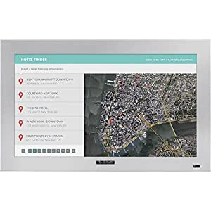 "SunBrite TV DS3214TSLSL Silver Pro 32"" Aluminum Powder Coated Exterior Outdoor Touch Screen DS3214TSL"