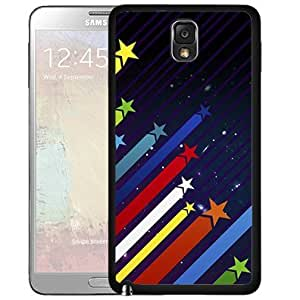 Colorful Shooting Star Hard snap On Cell Phone Case Cover (Samsung Galaxy Note III 3 N9002)