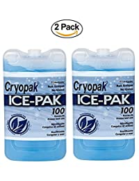 2 paquetes de hielo para congelador de alimentos e