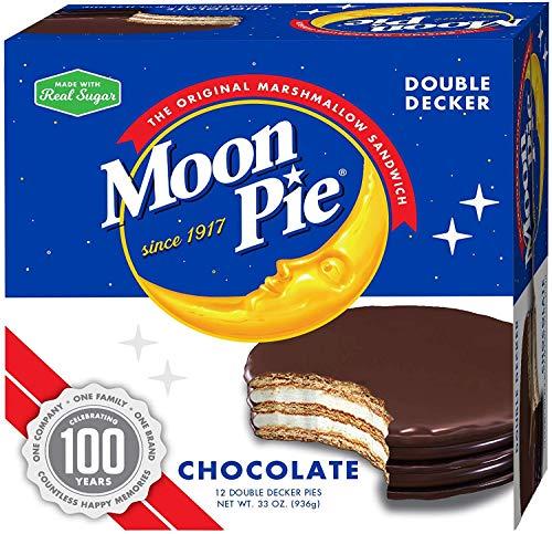 MoonPie Double Decker, Chocolate, 2.75 oz, 12 Count Pack ()