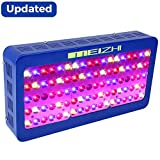 450W LED Grow Light, MEIZHI Reflector Series Full Spectrum Plants Lamp for Indoor Plants Veg Flower Dual Switches,Same Output as Ther Brands 900W 1000W Growing Lights (90pcs High Bright SMD LED)