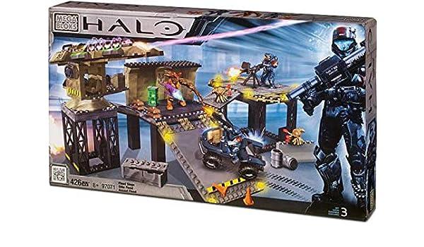 Halo Mega Bloks Set #97071 Flood Siege, Storage