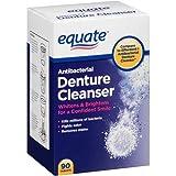 Equate Antibacterial Denture Cleanser 40ct, Compare to Efferdent
