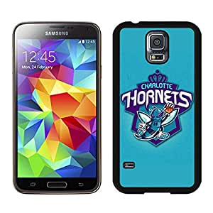 Unique Custom Designed Cover Case For Samsung Galaxy S5 I9600 G900a G900v G900p G900t G900w With Charlotte Hornets 3 Black Phone Case