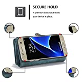 Galaxy S7 Detachable Wallet Case XRPow 2In1