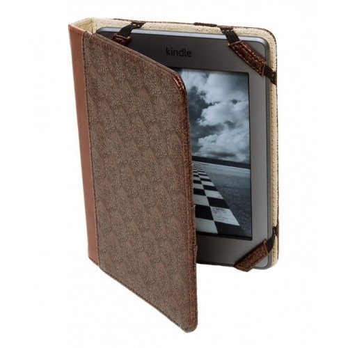 Sumdex CrossWork New Kindle/Kindle Touch/Kindle Paperwhite Folio in Antique (PVN-814AT)