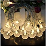 Indoor String Lights, 20 LED Fairy Light for Teepee Tents, Decorative Ball String Light for Bedroom,Christmas, Patio,Garden,Wedding,Xmas Party