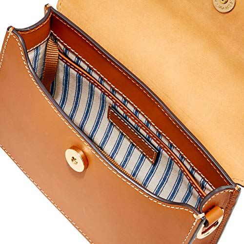 Crossbody amp; Flapover Cognac Beacon Dooney Small Bourke X1SxgxqT
