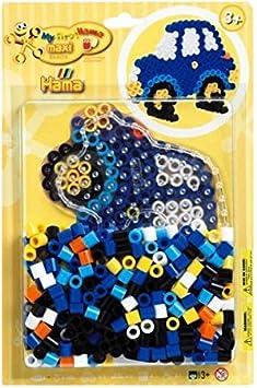 8921 Cheval /À Bascule Taille Maxi Blister 250 Perles /à Repasser Hama 1 Plaque Loisirs Cr/éatifs
