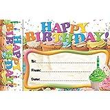 Edupress Happy Birthday Cupcakes Bookmark Awards (EP63024)