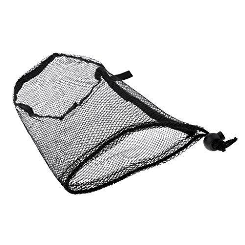 Mesh Golf Pouch (MonkeyJack Nylon Mesh Nets Bag Golf Ball Tennis Balls Pouch Storage Holder 18 pcs balls)