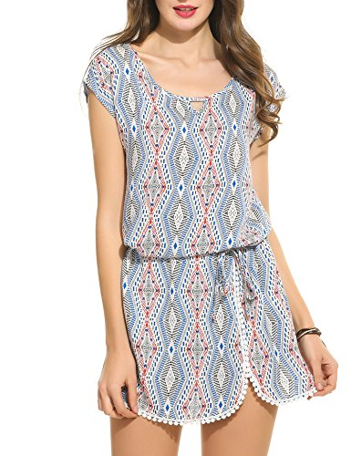 Buy belted drop waist dress - 2