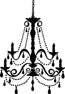 RoomMates RMK1575GM Chandelier Peel and Stick Giant Wall Decal