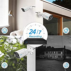 Reolink 4K Ultra HD 8MP Add-on POE IP Security Camera Outdoor B800