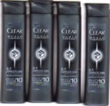 Best Clear Anti Dandruff Shampoos - (10 Pack) CLEAR Men Scalp Therapy COMPLETE CARE Review