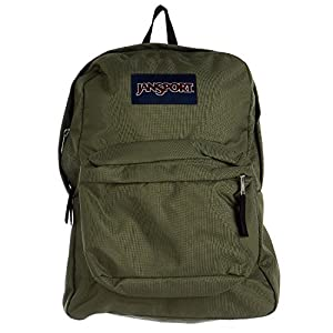 JanSport Unisex SuperBreak Muted Green Backpack