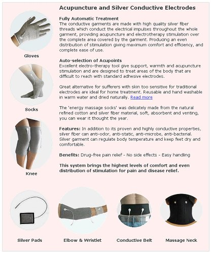 Health Check Systems Medicomat-291E Health Care Management Computer Hand Foot Knee Elbow Pads Therapy by Medicomat (Image #2)