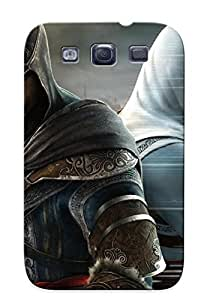 Christmas Gift - Tpu Case Cover For Galaxy S3 Strong Protect Case - Assassins Creed - Revelations Design