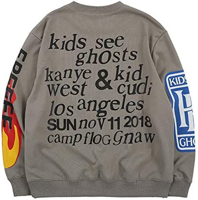 KANYE WEST Shirt Lucky Me I See Ghosts Sweatshirt Unisex Street Hip Hop Shirt