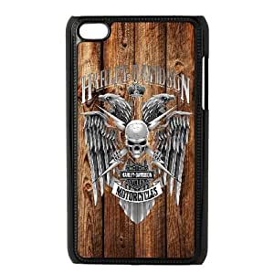 iPod Touch 4 Case Black Harley Davidson L1D3QC