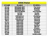 AutoTex D103 38nm Wiper Motor