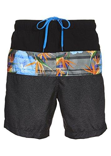 - Laguna Mens Relaxed Fit Crystal Cove Board Shorts Swim Trunks Grey XL