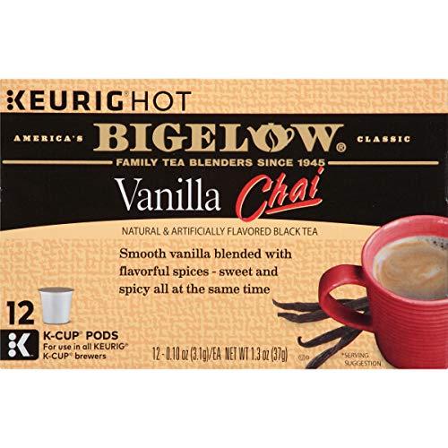 Bigelow Vanilla Chai Tea Keurig K Cups 72 Count