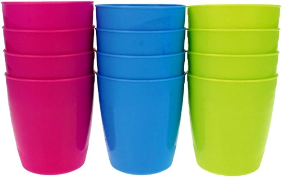 Trinkbecher Mehrwegbecher Kunststoff Partybecher 400ml Transparent 30 Stück