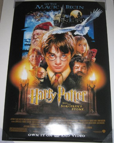 Best movie posters 27×40 original harry potter for 2019