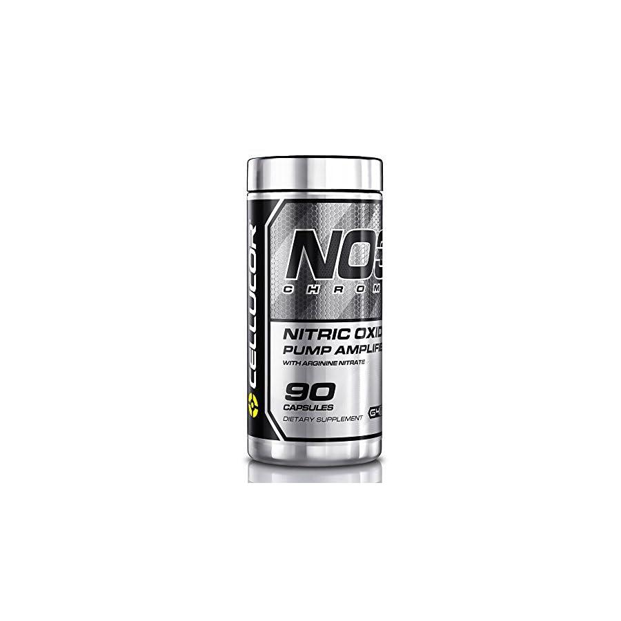 Cellucor, NO3 Chrome, Nitric Oxide Pump Amplifier, 90 Capsules