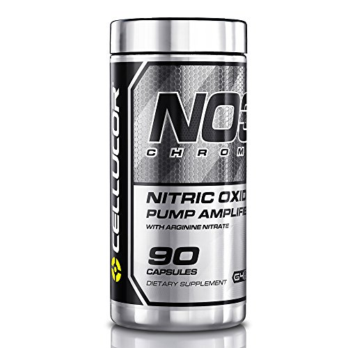 Cellucor NO3 Chrome Nitric Oxide Pump Amplifier, Pre Workout Pills, 90 Capsules