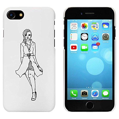 Blanc 'Femmes Élégantes' étui / housse pour iPhone 7 (MC00062660)